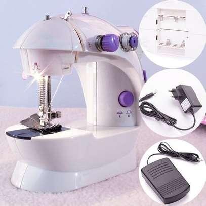 Multifunction Electric Mini Sewing Machine image 1