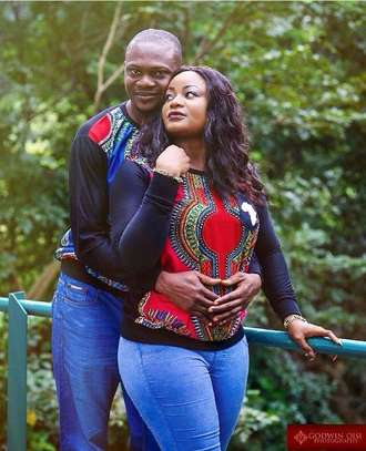 Ankara African Couple Outfit image 8