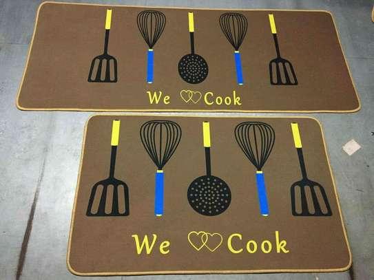 2 in 1 Kitchen long mat /bedside mat /corridor mat image 1