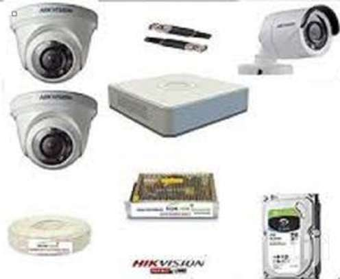 Three 3 CCTV camera Complete cameras sale image 1