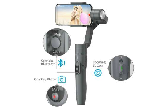 VIMBLE 2 3-Axis stabilized handheld Gimbal for SmartPhone image 2