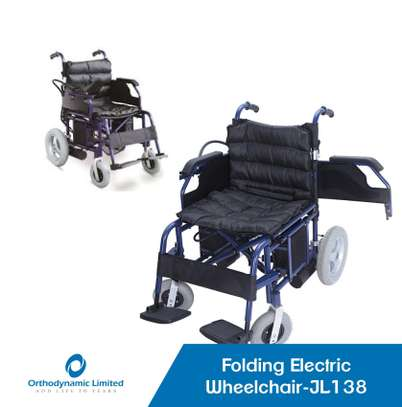 Standard commode wheelchair image 7