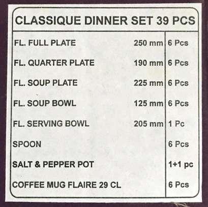 39pc dinner set/39pc diva dinner set/Dinner set image 2