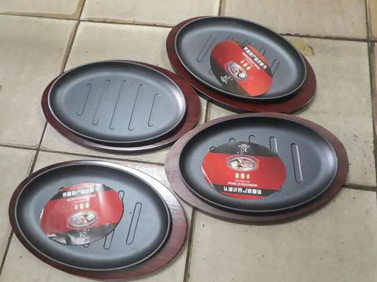1pc Sizzling plate/1pc sizzler plate/hot plate image 3