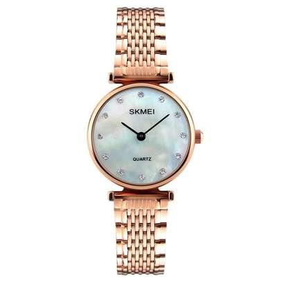 Skmei Women Fashion Luxury Gold Watch 1223 image 1