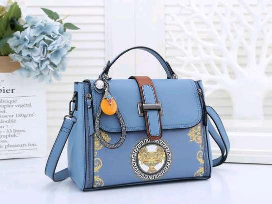 Sky blue ladies versace bags image 1