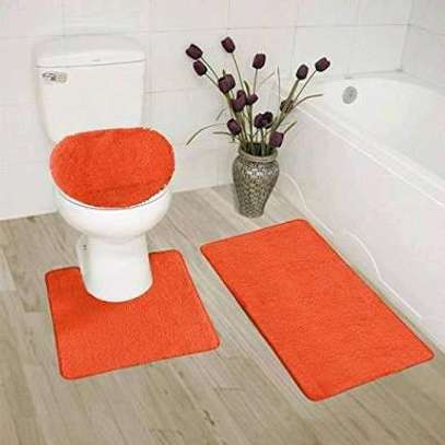3 pieces bathroom carpets image 1