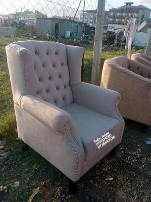 Single seater sofa/wingback chair/one seater sofa image 1