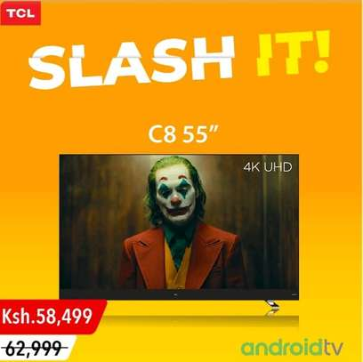 TCL SMART ANDROID QUHD TV C8 55 image 1