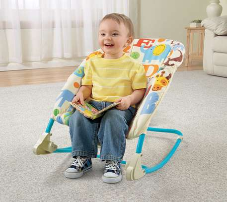 New generation 2in1 deluxe Infant-to-Toddler Rocker image 3
