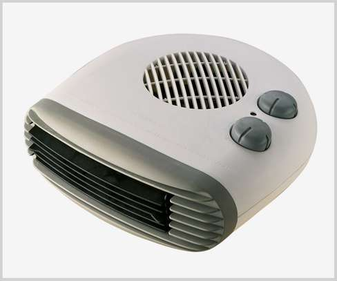 ohms fan heater-white image 1