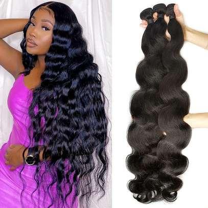 "24"" Human Hair Weaves image 3"