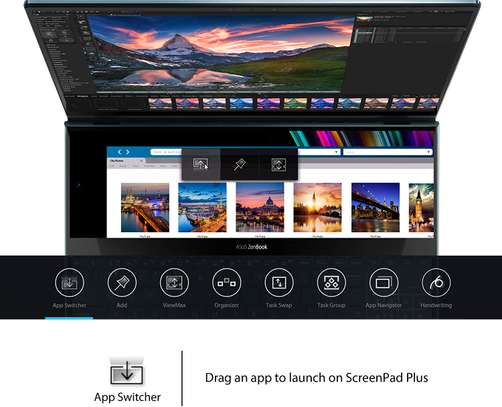 "Asus ZenBook Pro Duo UX581 15.6"" 4K UHD NanoEdge Bezel Touch image 3"