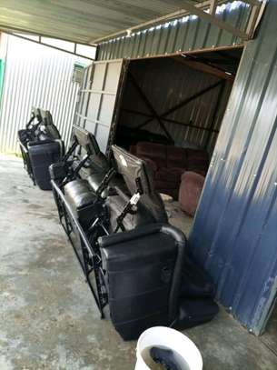 Repair, repainting and reupholstery of all imported recliners and other leather sofas image 8