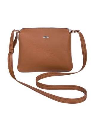 Ladies sling bag(brown) image 2