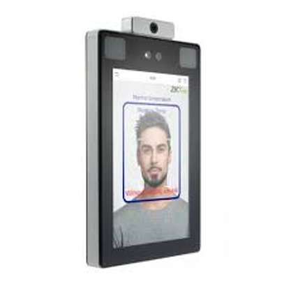 Facial Biometric Time Attendance And Access Control System-Zkteco ProFace X [TD] Face & Palm Verification and Body Temperature Detection Terminal image 1