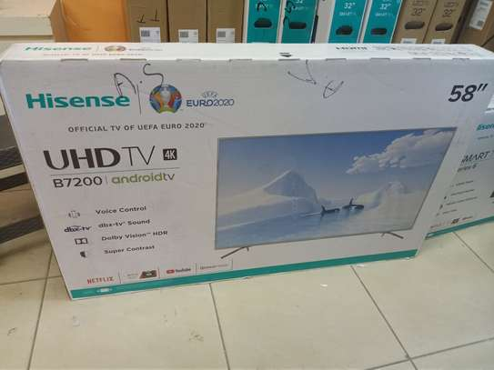 hisense 58 android smart 4k digital tv image 1