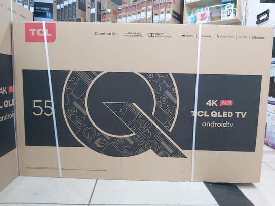 55 TCL Qled Q815 Android  4k TV image 1
