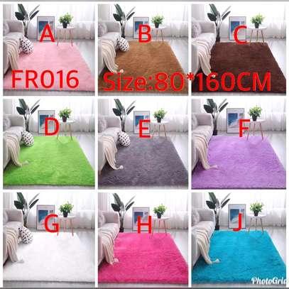Fluffy Bedside carpets image 1