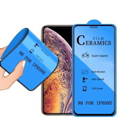Ceramic 5D Full Glue Glass Protector Flexible Anti-Break,Anti-Fingerprint for iPhone X  XS image 8