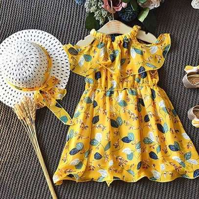 2pc Girl Dress outfit - 3 - 5 Years