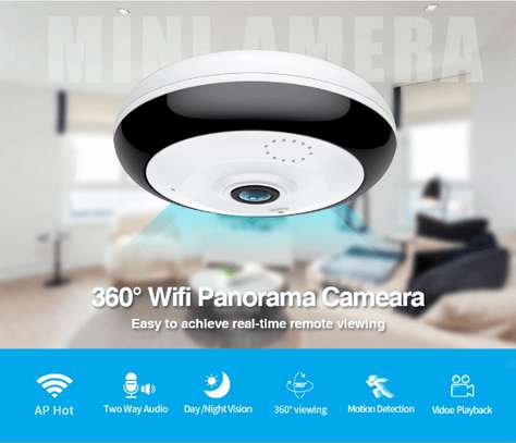 Mini Fisheye Camera 2MP WiFi CCTV Camera image 3