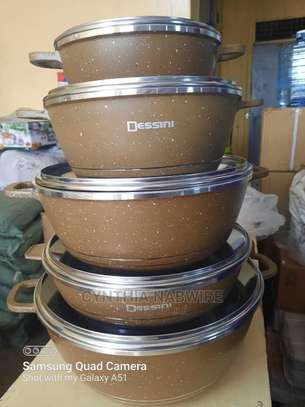 10pc Dessini Granite Cookware Set image 2