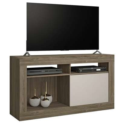 TV Stand Rack ( NT1030 ) - TV space up to 43'' - Cinnamon / Sand