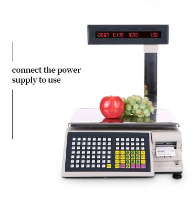 new  price computing Barcode scale. image 1