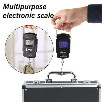 Pocket Portable Hanging Scale 50kg / 10g image 1
