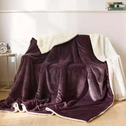 flannel Throw Sherpa super Warm Fleece Blankets?? image 6