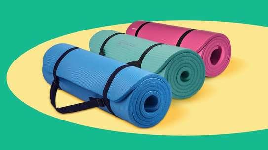 Generic Non Slip Yoga Mat- 5mm Thick image 1
