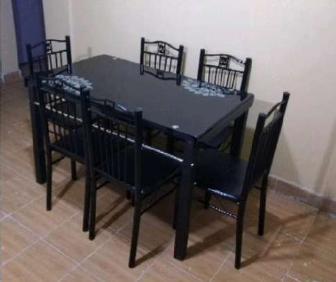 Current flat dining table for six chairs image 1