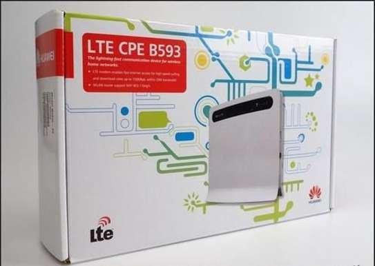 Hauwei 4G WiFi Router   Huawei B593 LTE.CPE image 1