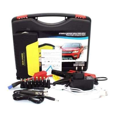 Jump starter with air compressor image 1
