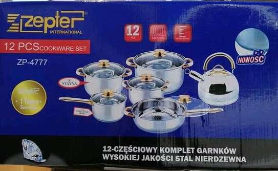12 Pieces Cookware set image 1