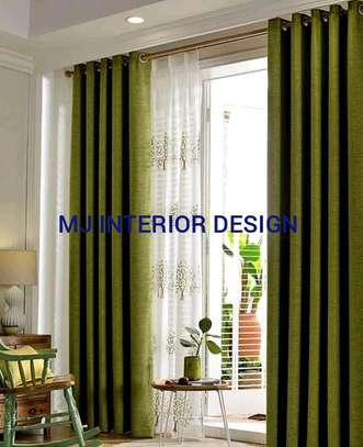 LINEN CURTAINS AND SHEERS image 1