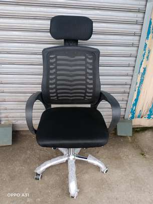 High back office chair qj005 image 1
