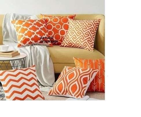 Decorative Floral Print Throw Pillows image 5