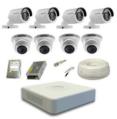 Four cameras CCTVS package image 1