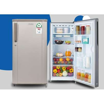 Haier HRD-1903BS Single Door Direct Cool Fridge 190 Litres - Brushline Silver