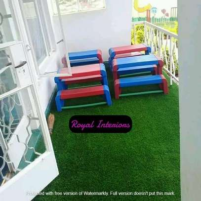 Artificial grass turf image 5