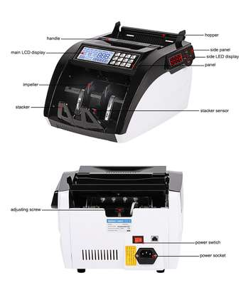 The machine for the account of money with the detector Bill Counter UV MG 5800 image 1