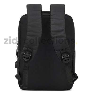 Quality Anti-Theft Laptop Backpack With USB Charging Support image 6