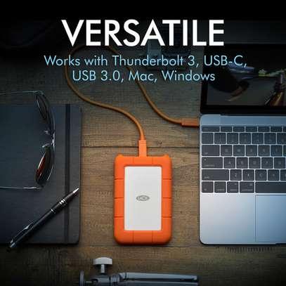 LaCie 2TB Rugged USB 3.1 Gen 1 Type-C External Hard Drive image 4