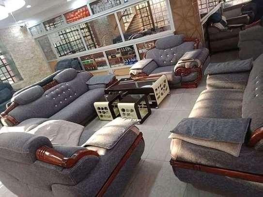 Diamond fixed back sofas image 6