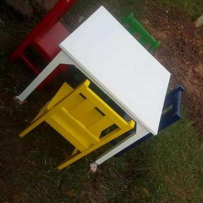 4 Seater Kids Reading Table