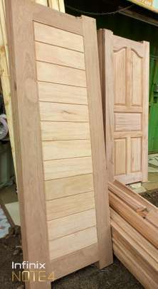 Top security mahogany wooden doors