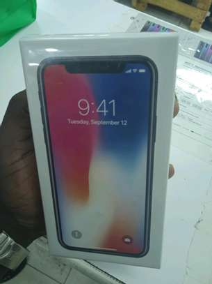Iphone X 64gb new in shop+Delivery services image 1