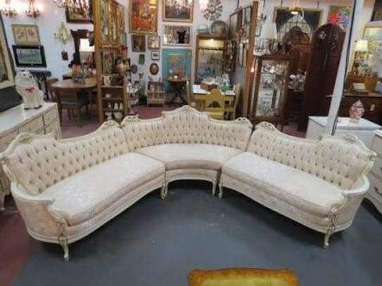 Antique L-sofa/U-sofas (5/7/9 seaters) image 4